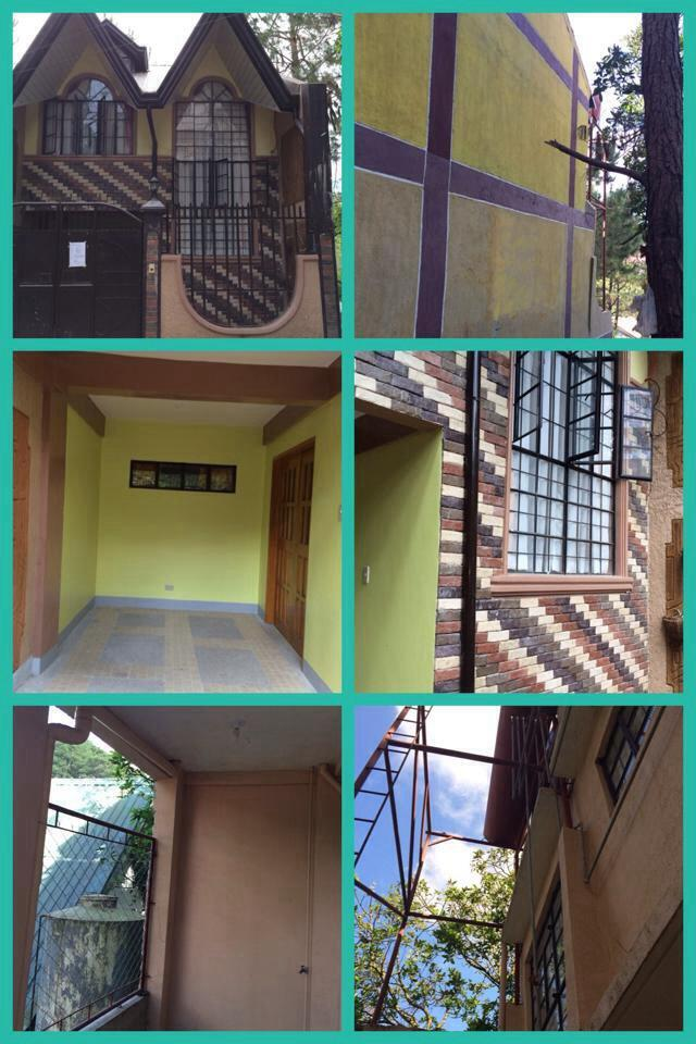 2 Storey Duplex House and Lot For Sale in Baguio City Near SLU