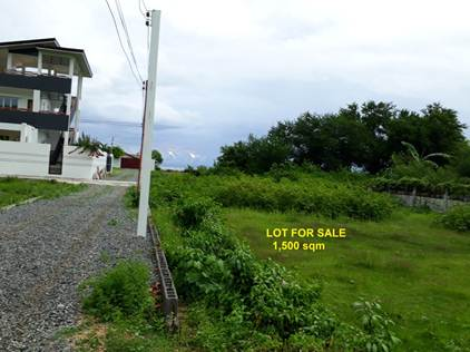 1,500 sqm Titled Lot For Sale in Bacnotan La Union 19m Frontage,Ilocos (SOLD)