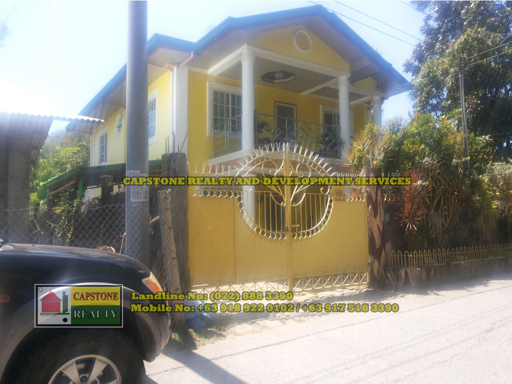TITLED HOUSE AND LOT IN SAN FERNANDO CITY, LA UNION 250 sqm
