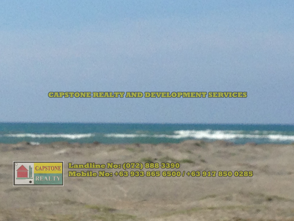 442 Sqm Titled beach lot for sale, Bauang, La Union (second lot)