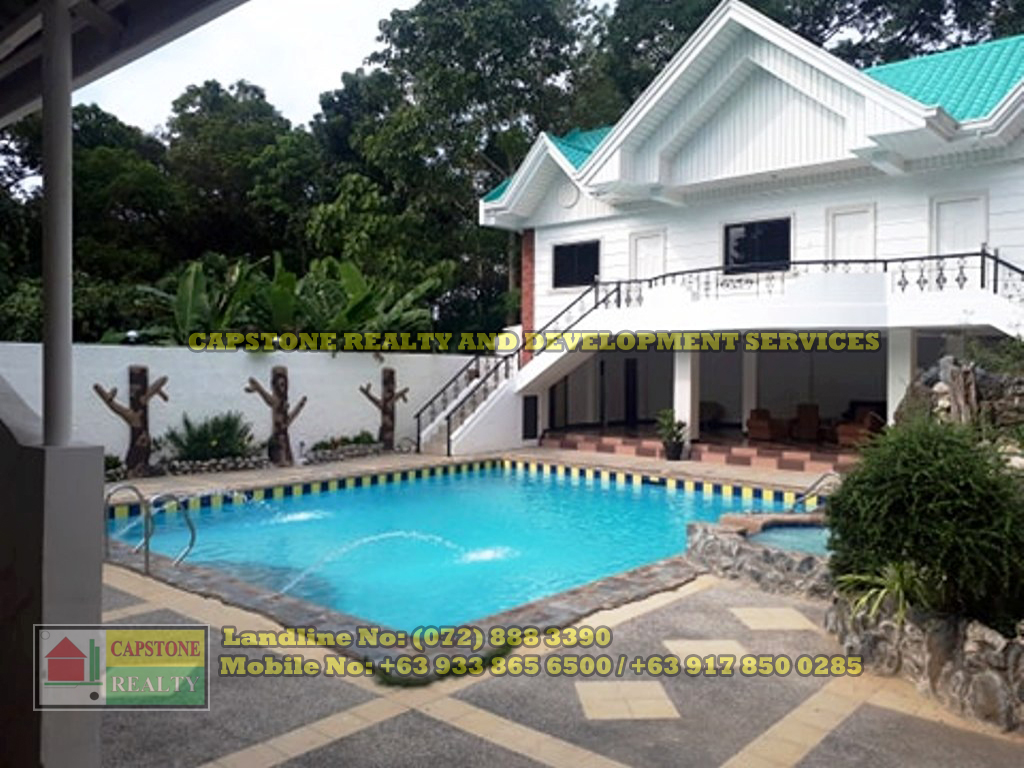 House and lot with swimming pool for sale Bauang, La Union